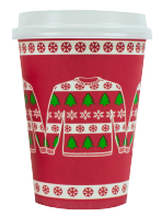 12oz Seasonal Christmas Jumper Cups